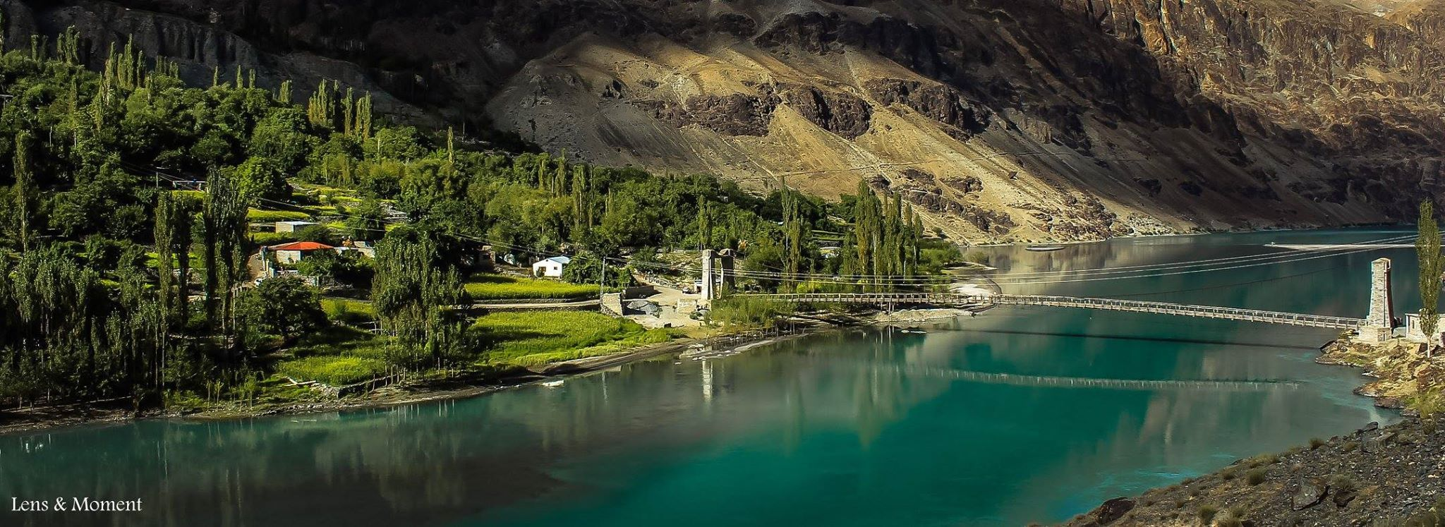 Land of lakes Ghizer valley.