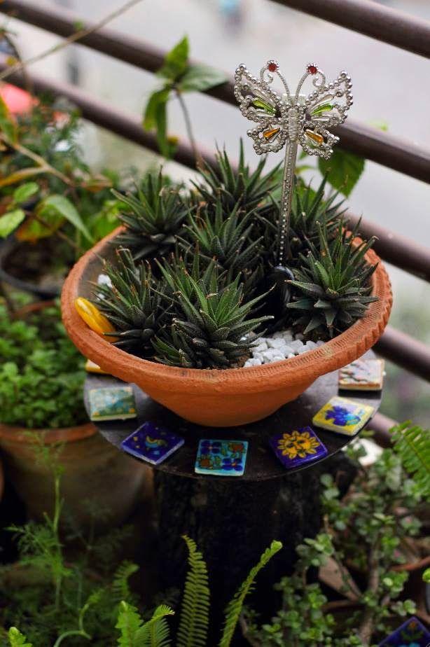 Beautiful Balcony Garden Balcony Garden Ideas Pinterest