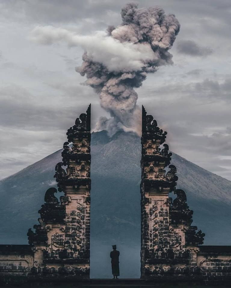 Gates Of Heaven At Pura Lempuyang In Bali Photography In 2019