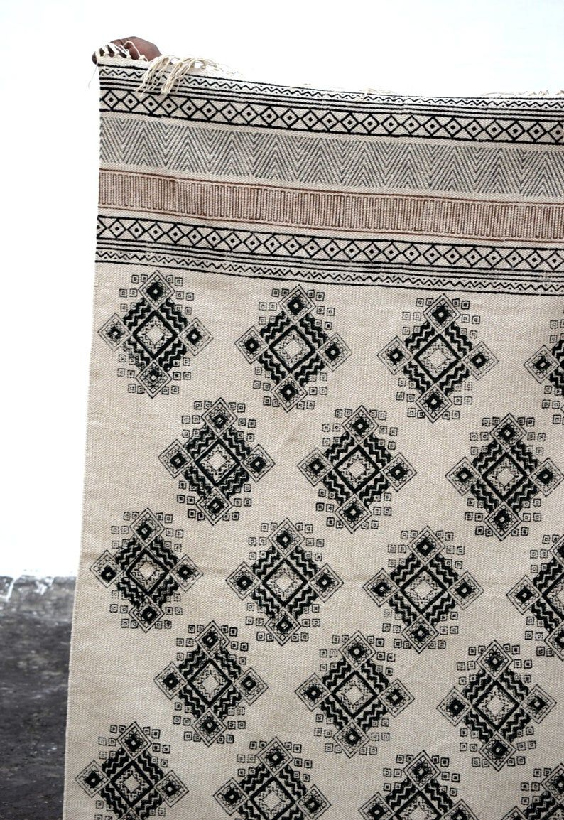 Kilim Cotton Printed Rug Handmade Kilim Rug Winter Etsy In 2020 Printed Cotton Rug Handmade Kilim Rugs Handmade Kilim