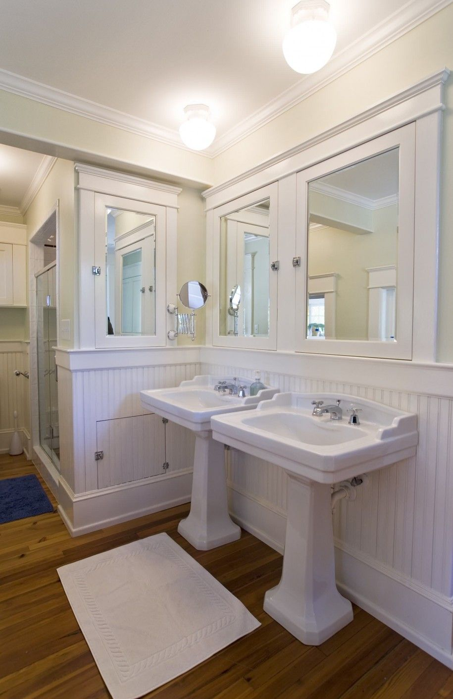 Like the triple medicine chest idea master bath reno pinterest