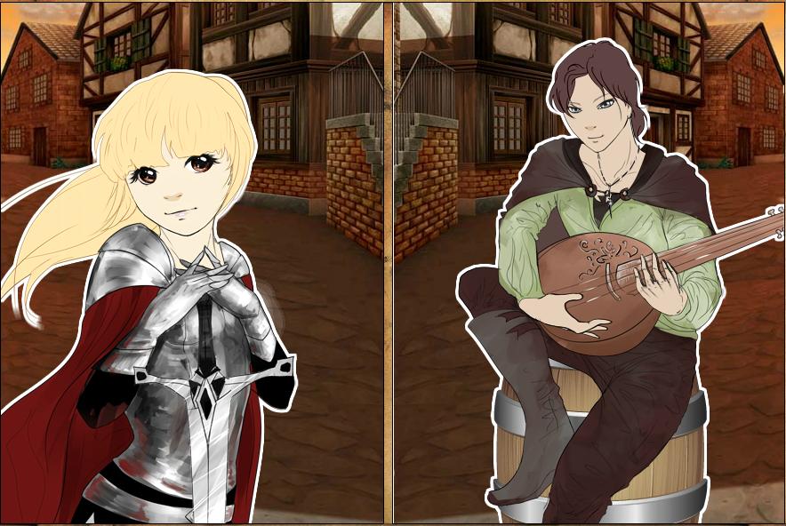 Rinmaru Games (Manga Creator Fantasy World Page) Fantasy