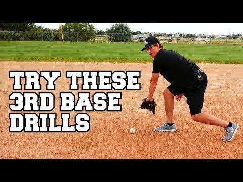 Photo of BEST Baseball Infield Drills For THIRD BASEMAN!
