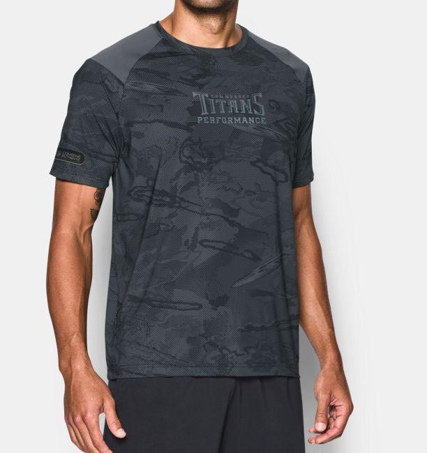 Men s NFL Combine Authentic UA Pinnacle Printed T-Shirt  c2b2daa70