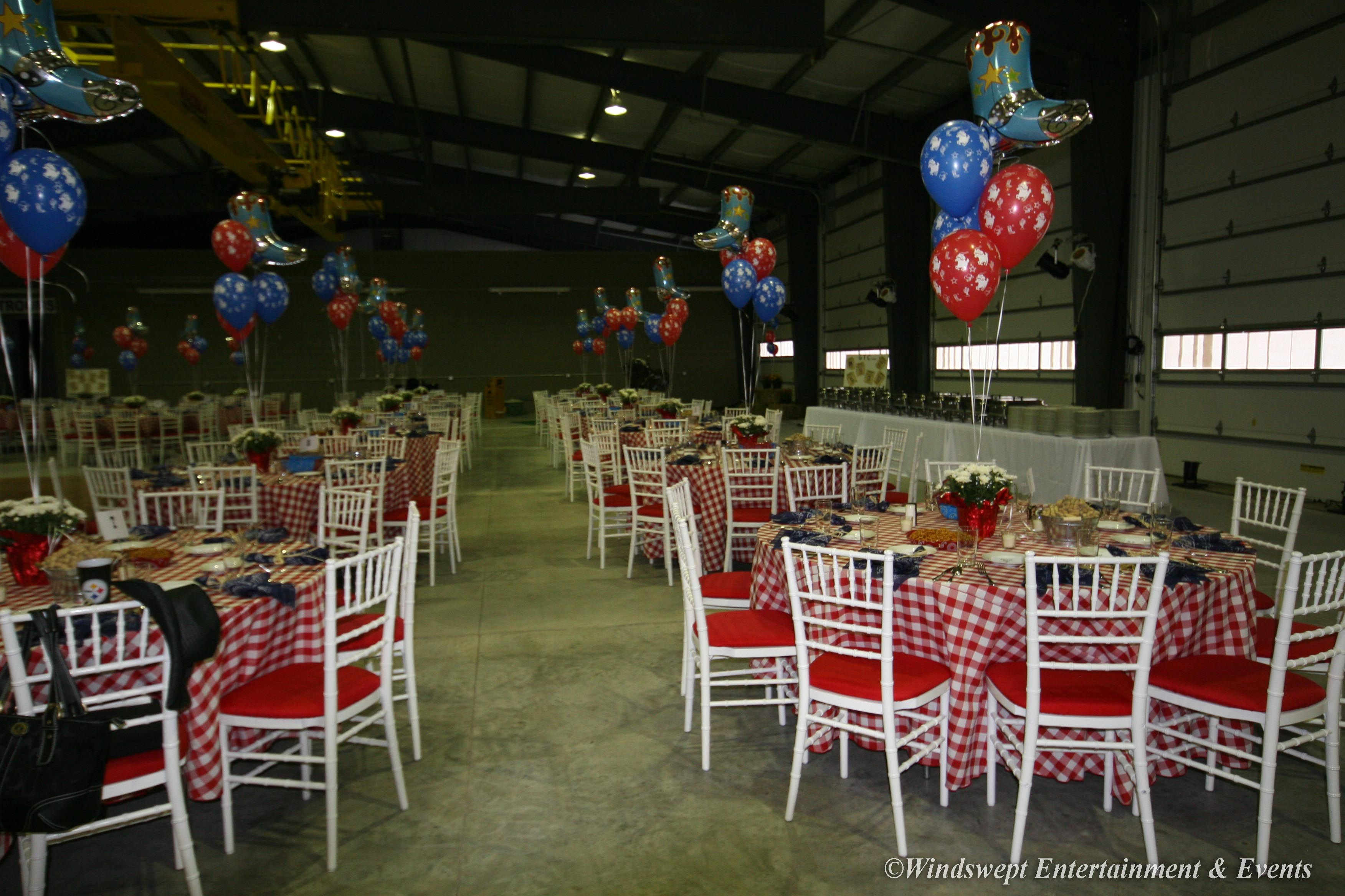 Chiavari Chair Rentals Include An Oversized Velcro