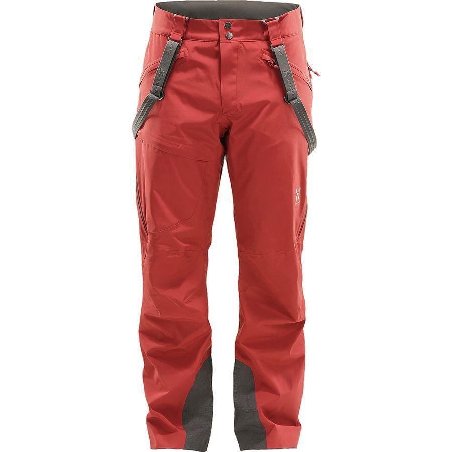 Haglofs Line Pant Men S Dark Ruby Mens Ski Pants Pants Mens Pants