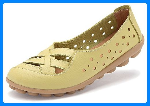 Fangsto Loafer Flats, Mädchen Damen Sneaker Low-Tops , mehrfarbig - Celery  - Größe