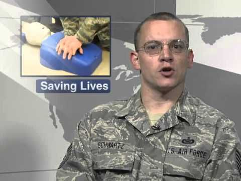 ▶ North Dakota Guardsmen Helps Save Life - YouTube