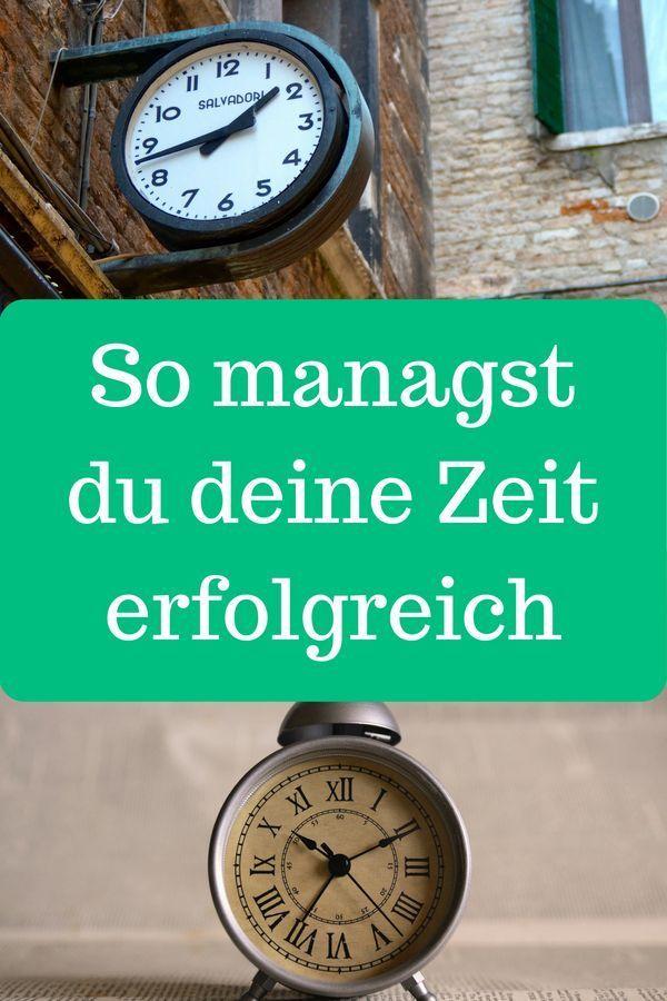Gutes Zeitmanagement