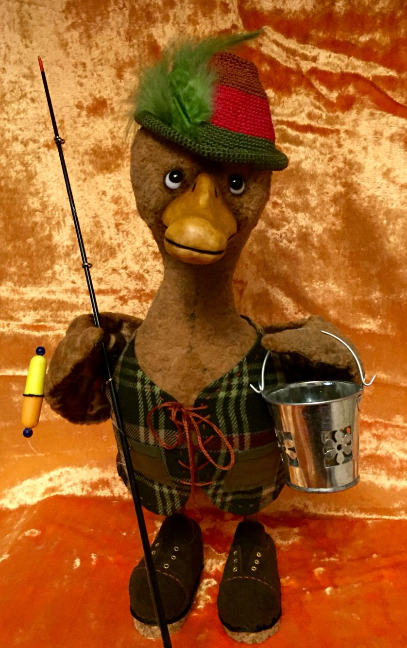 duck fisherwoman