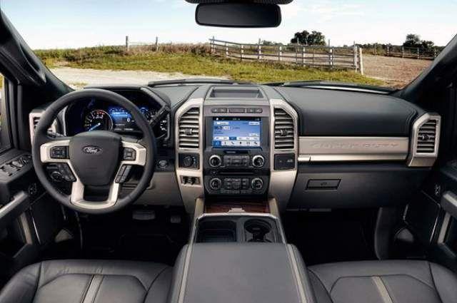 2018 Ford Super Duty Interior Ford Super Duty Super Duty Trucks Ford Truck