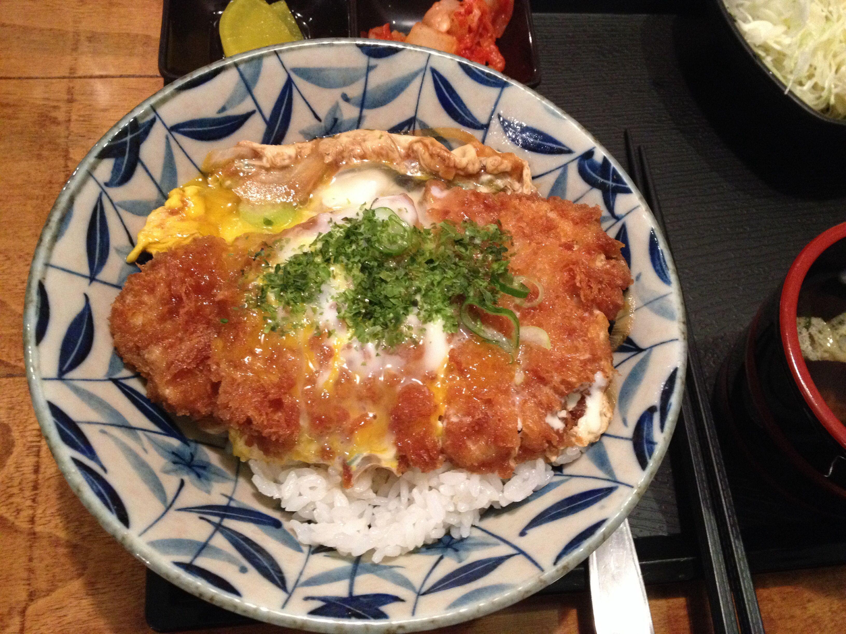 2014.3.27 점심. 가츠동
