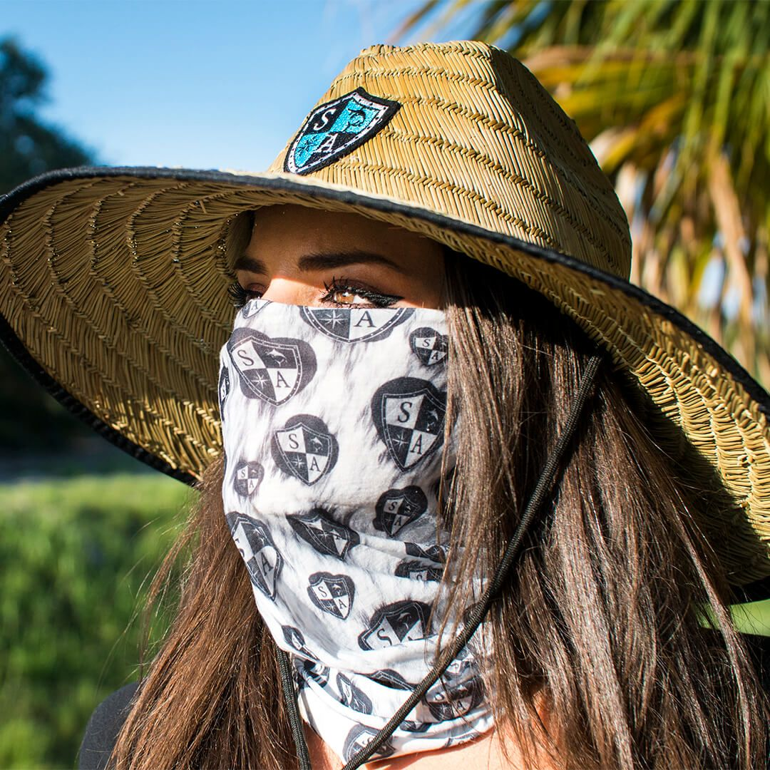 9c5c54d3a SA Co. Leopard Polar Face Shield™ in Brown | Tubular Bandana ...