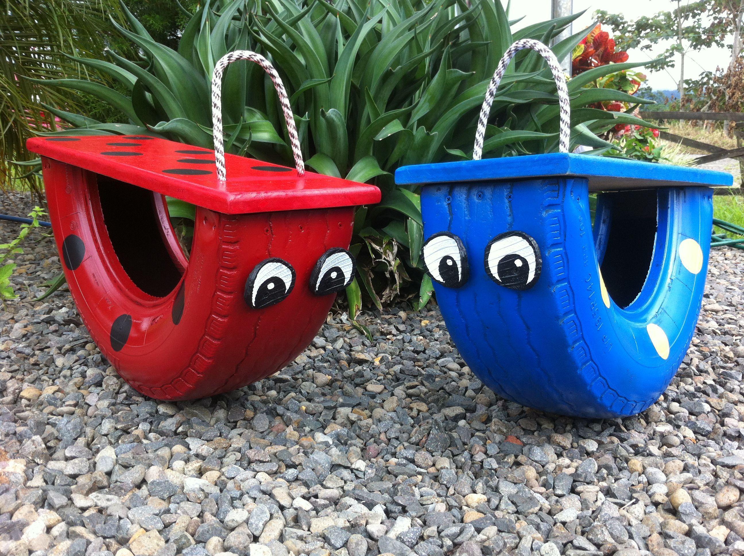 Reifenrecycling – 10 erstaunliche DIY-Reifenprojekte – Kinder Blog