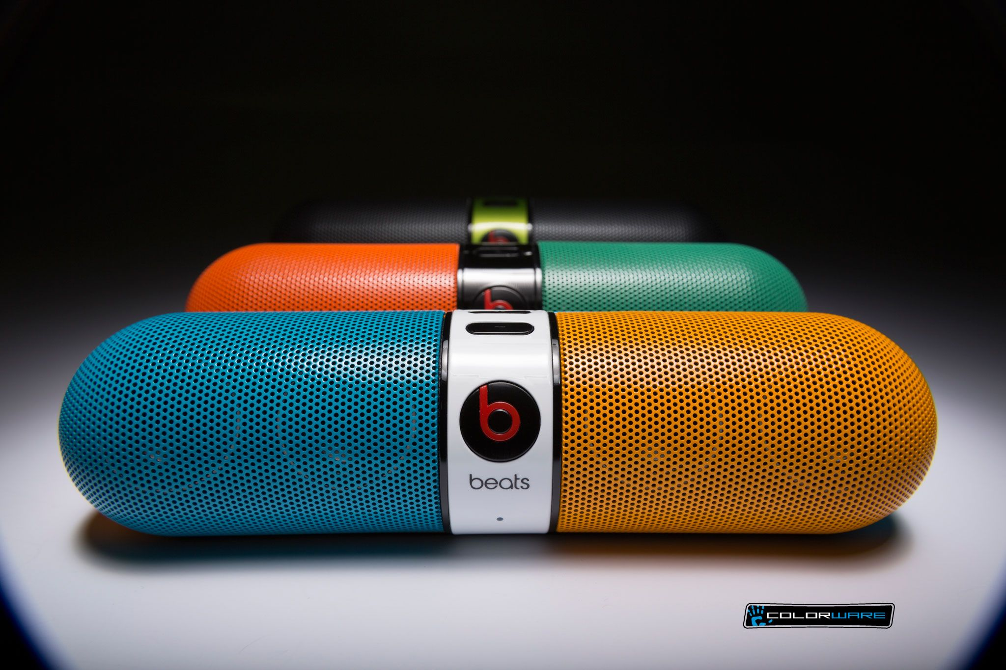 Portable Beats By Dre Pill Speakers Bluetooth Blue Orange Speaker Beatspillspeakers Beatsspeakersonsale