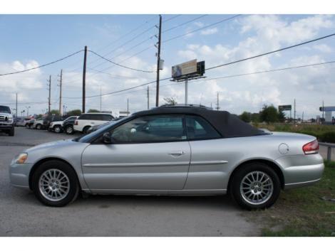 Cheap 2004 Chrysler Sebring Lxi Convertible For Sale In Texas Tx