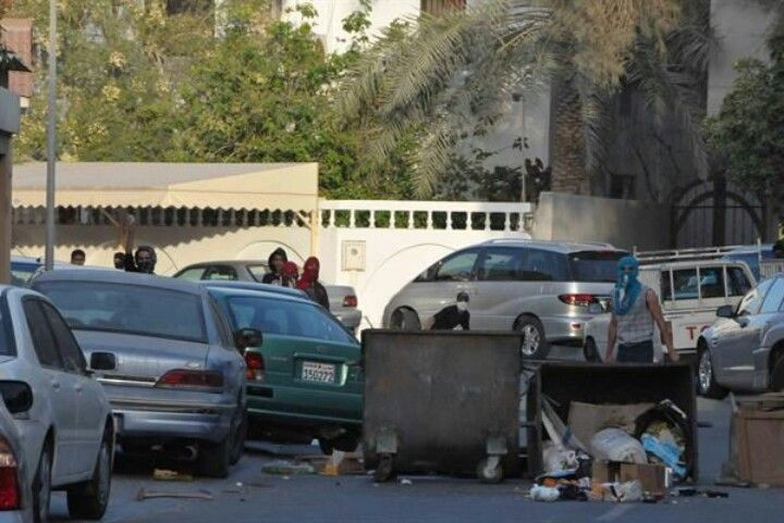 اعمال تخريب في الديه والمصلى وجد حفص Bahrain News Bahrain Road