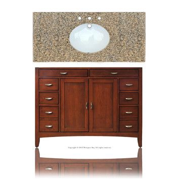 "Westport Bay Metropolitan 48"" Single Basin Vanity Set"