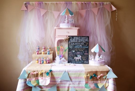 Adri's Carousel Themed 2nd Birthday Party // Tampa Party & Events Photographer - Renee Nicole {Design + Photography}
