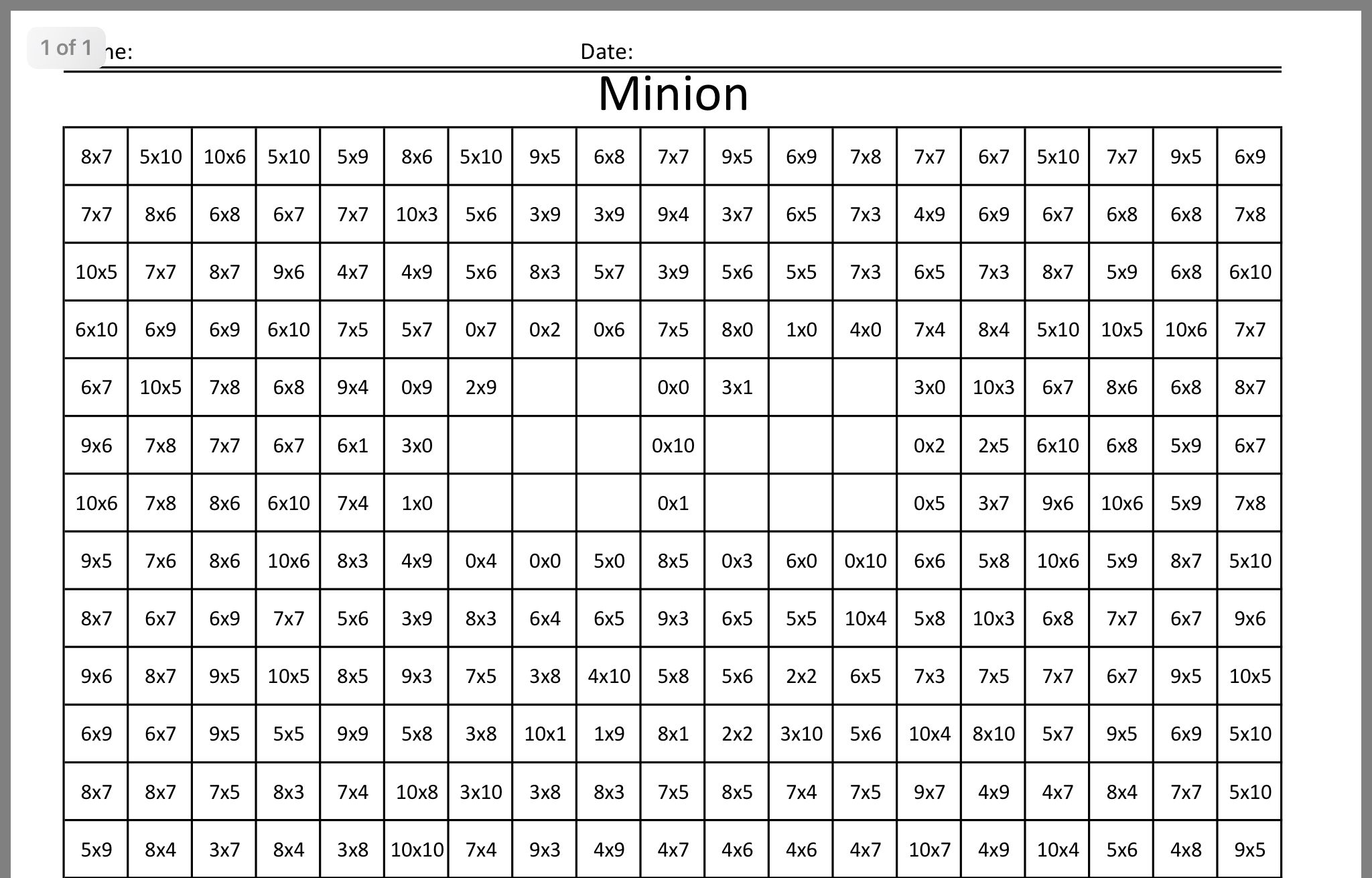 Pin By Emma Foxley On Timestables Math Coloring Math Worksheets Word Search Puzzle Grade math worksheets philippines
