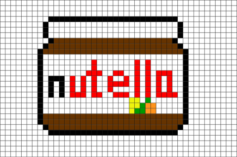 Afficher Limage Dorigine Dessin Pixel Coloriage Pixel
