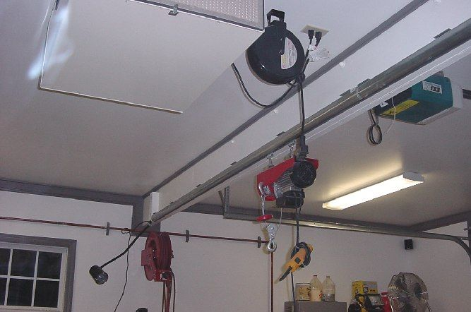 Db 07 Jpg 667 442 Garage Hoist Hoist Overhead