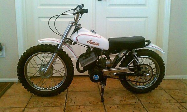 1976 Indian Mini Bike MM5A 100 restored I am the original owner - bill of sale for land