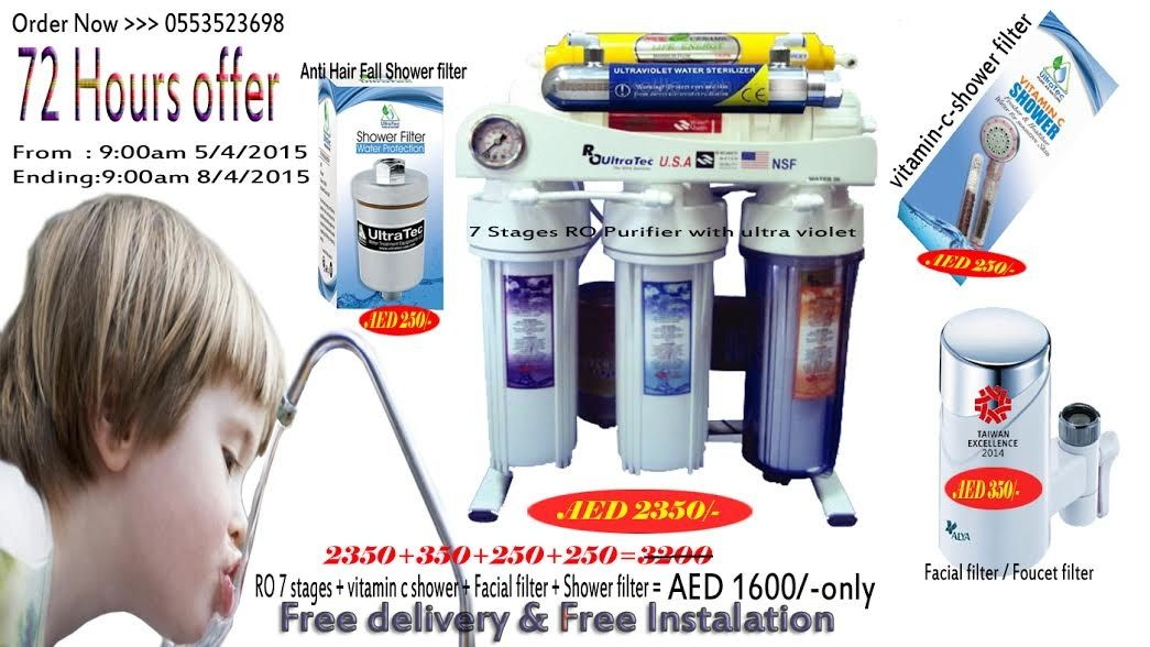 Water Filters UAE water purifiers and shower filters Dubai | Water