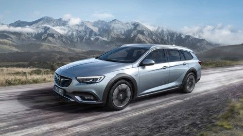 2017 Opel Insignia Country Tourer Debuts With Extra Ground Clearance Roughed Up Body Opel Vauxhall Insignia Suv