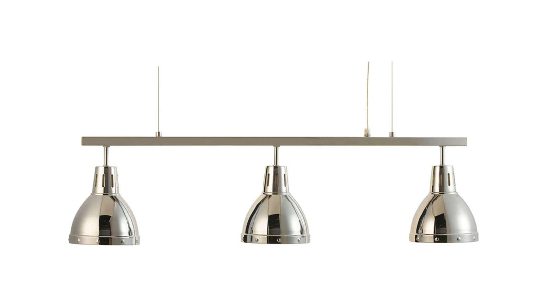 Lustre Barre 3 Lampes 290575 Lustre Structure Metal Et Lumiere De Lampe