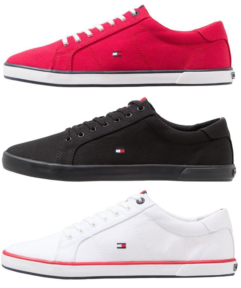 super popular 2d03c 5ae2d Tommy Hilfiger Herren Damen Schuhe Textil Sneaker Sportschuh ...