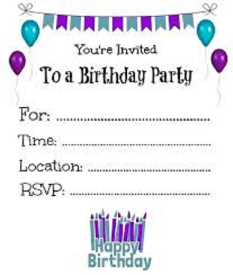 Make Birthday Invitations Card Free Online Printable