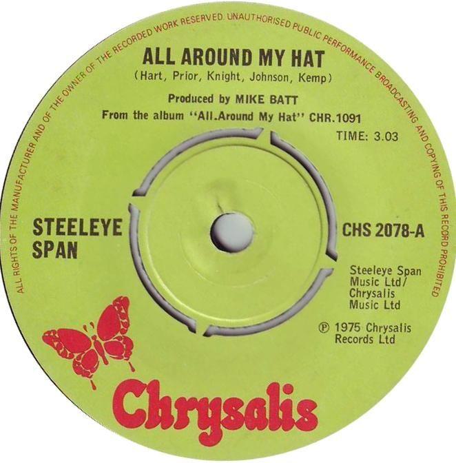 Steeleye Span All Around My Hat 7 Vinyl 45rpm Classic 1970s Folk Pop In Stock Now Moodboard Pngs Cute Stickers Vinyl