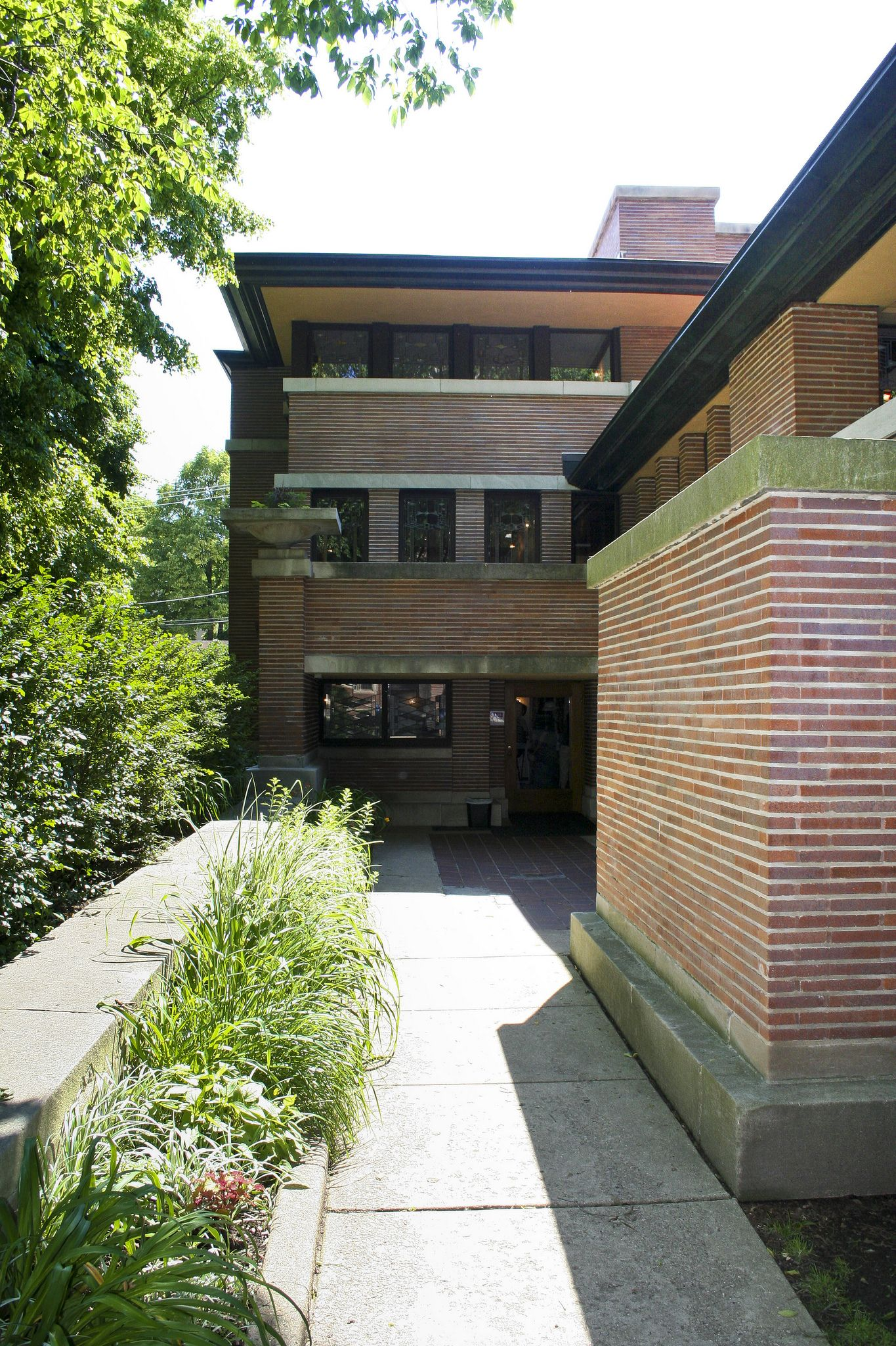 Frank Lloyd Wright Robie House Architecture Lloyd Wright