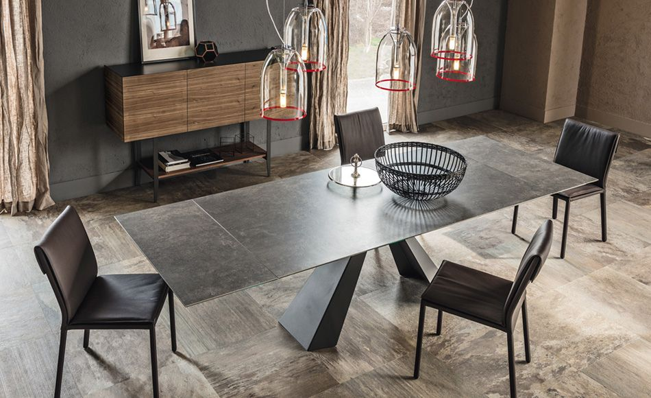 Cattelan Tables Avec Rallonges Aaron S Espace Repas Sejour