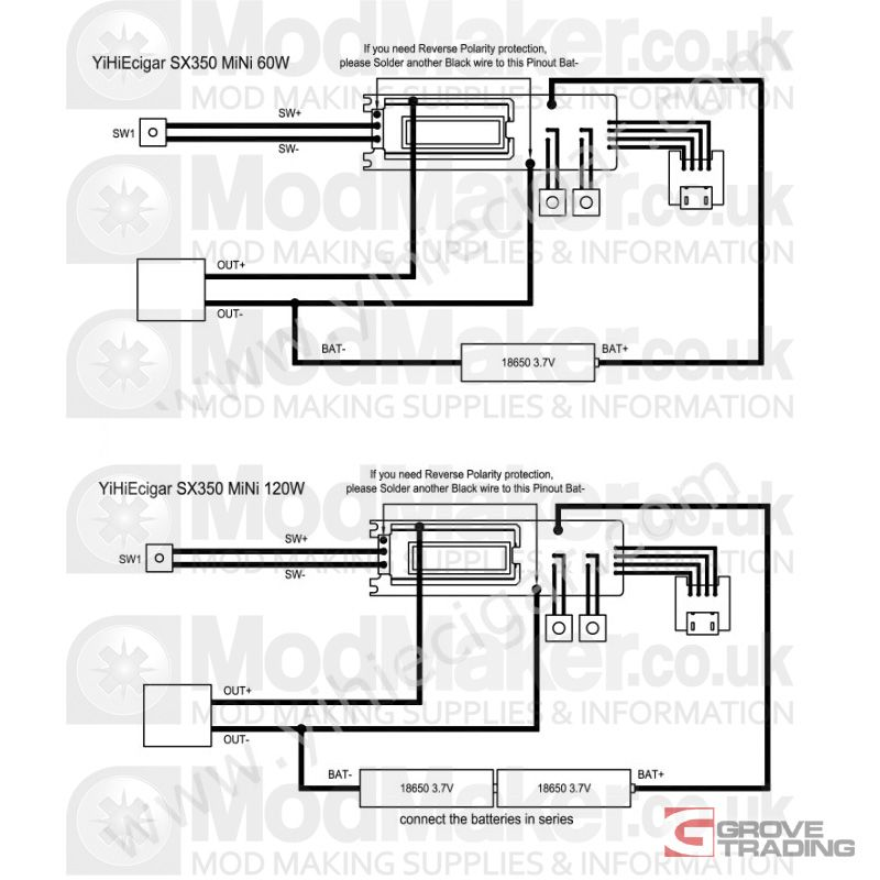 yihi 350j mini wiring diagram  Google Search | DIY Vaping