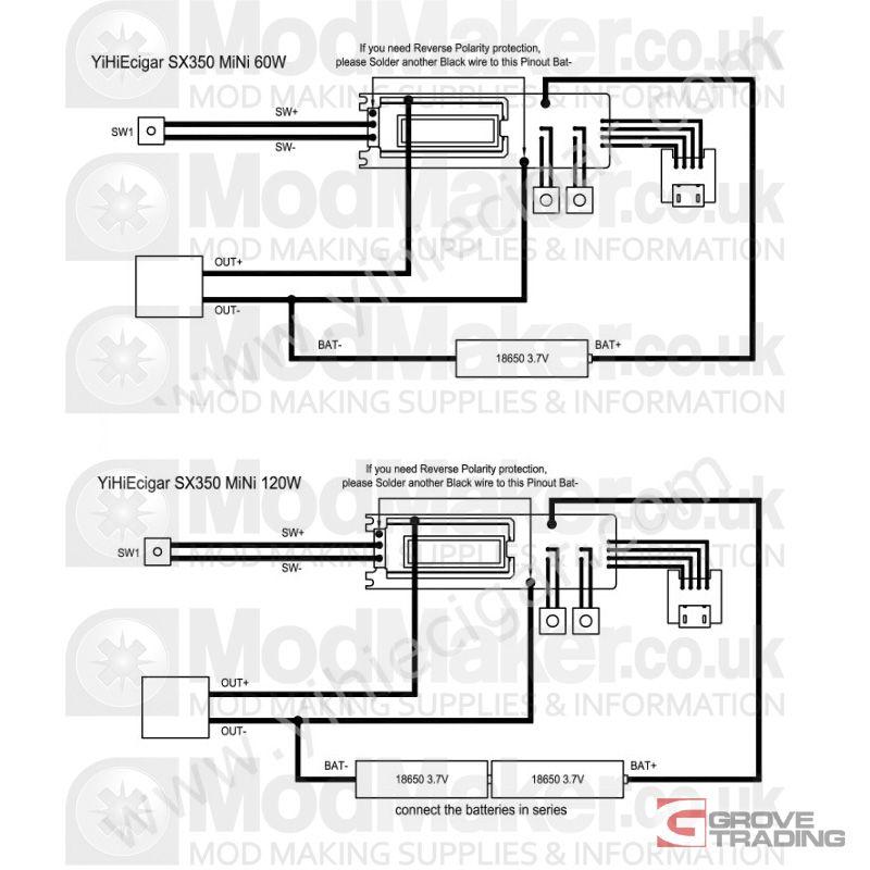 yihi 350j mini wiring diagram  Google Search   DIY Vaping