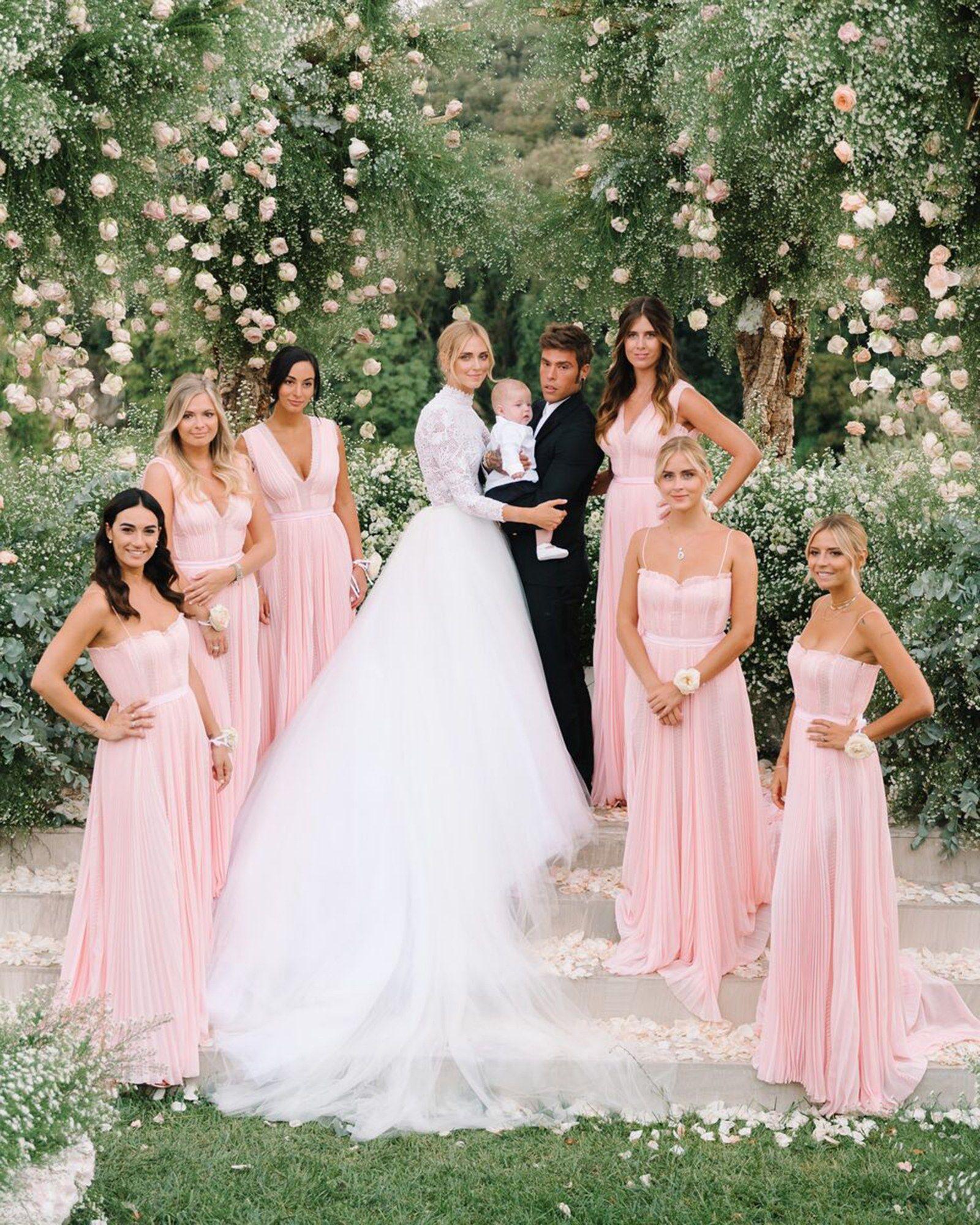 An Inside Look At Chiara Ferragni's Wedding Extravaganza