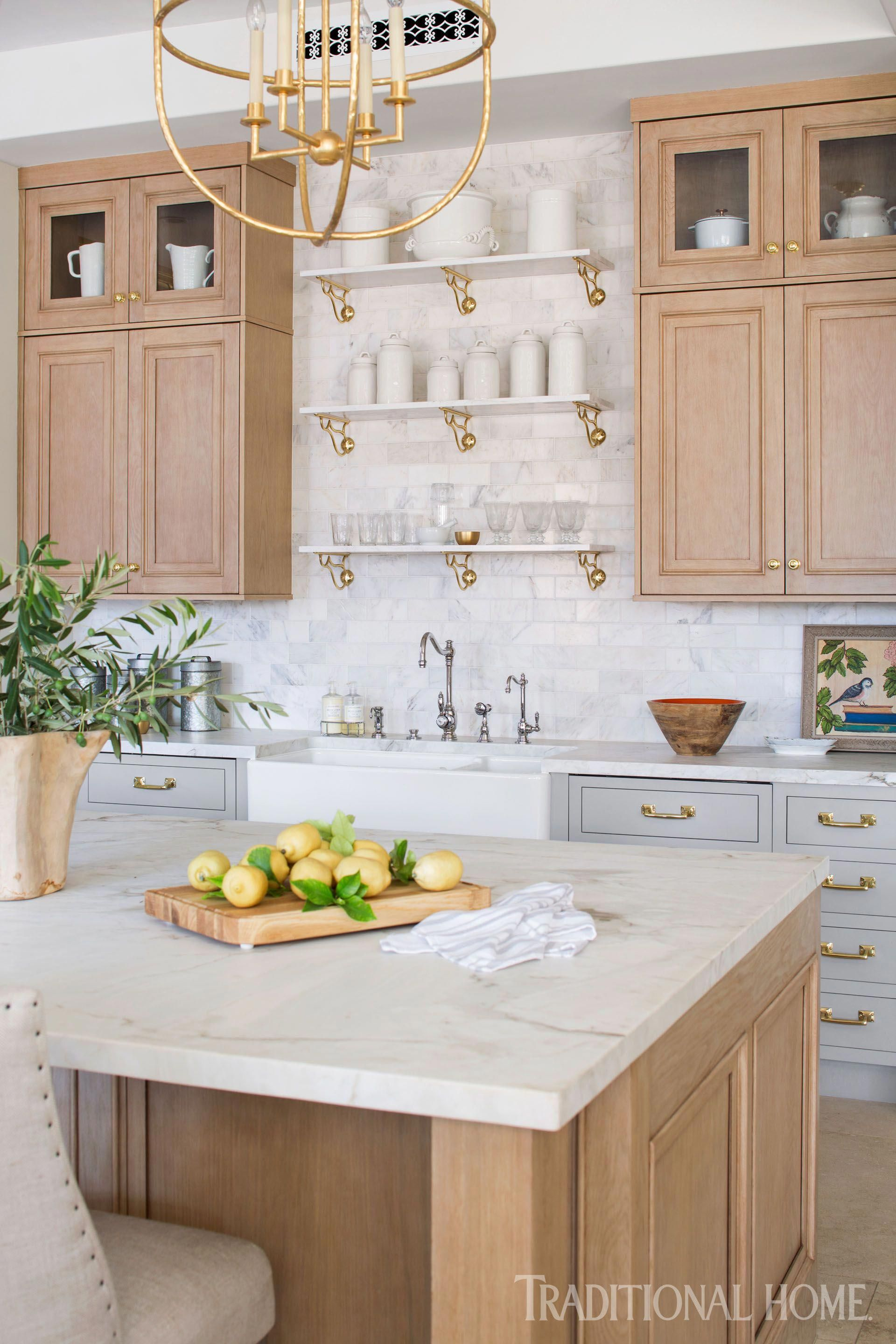 Traditional Kitchen Designs: French Style Inspires A Modern Kitchen