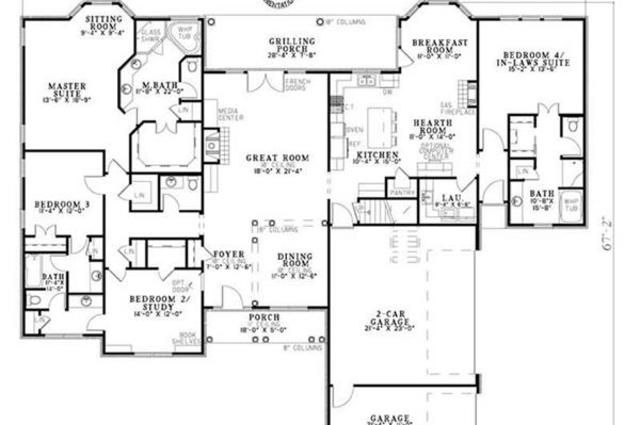 Pin on Home Design House Plans With Mother Daughter Suites on homes with mother suite, prefab mother in law suite, garage with guest suite, seperate house with in-law suite, house sold,