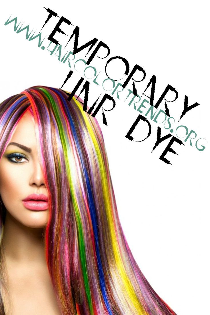 Temporary Hair Dyes