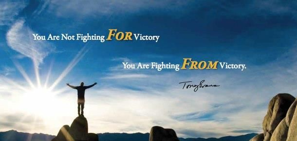 You are not fighting for Victory... You are fighting from  victory. | Victorious, Poster, Fight