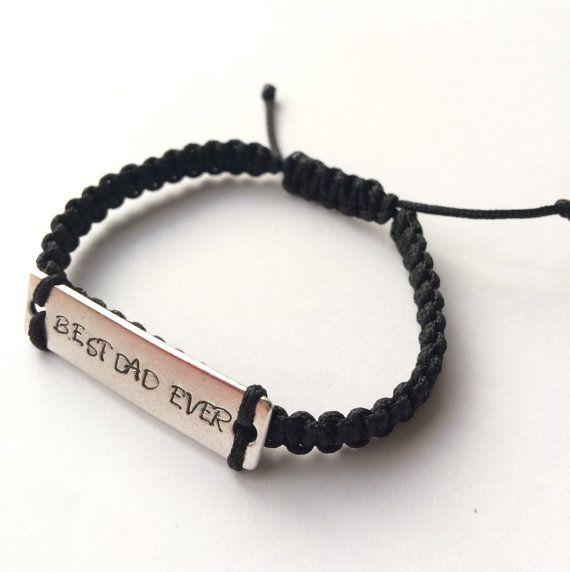 57b2ae0f8db0 Personalized mens bracelet