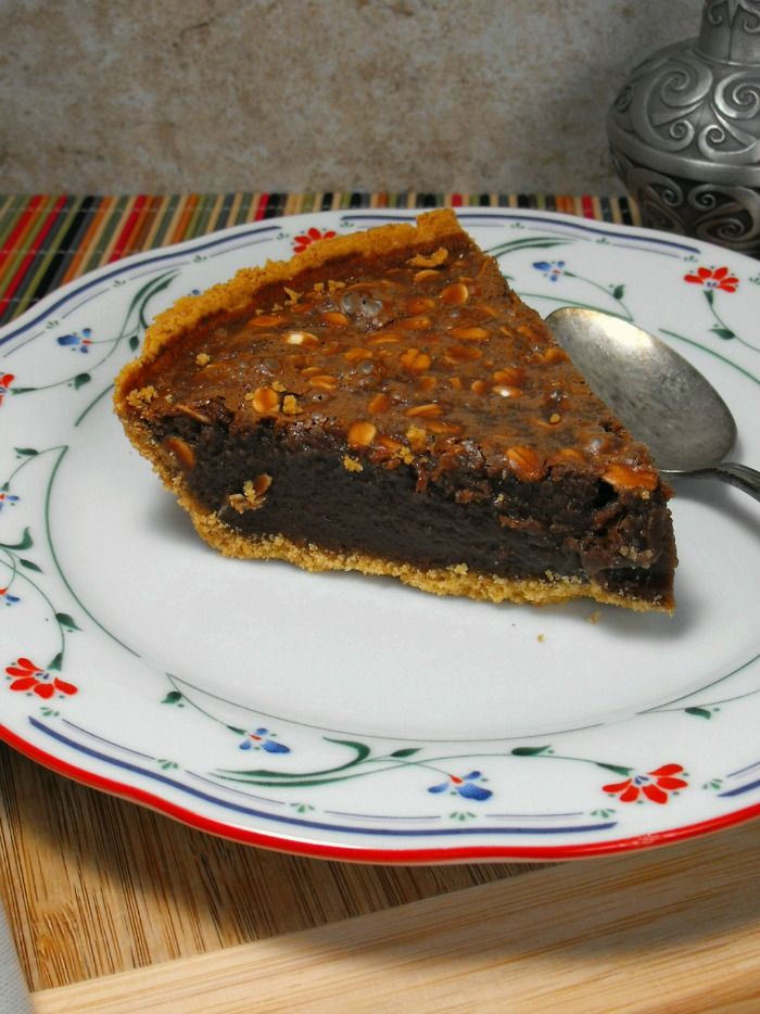 Easy Fudge Pie Easy Fudge Pie Best Chocolate Desserts Sweet Treats Recipes
