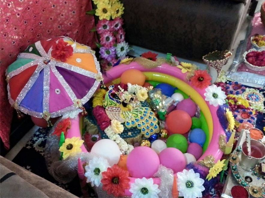 Decoration Ideas for Krishna Janmashtami