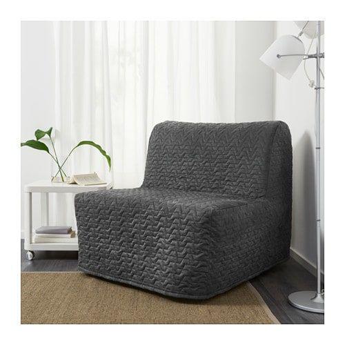 Incredible Lycksele Murbo Chair Bed Vallarum Grey Ikea Furniture Machost Co Dining Chair Design Ideas Machostcouk