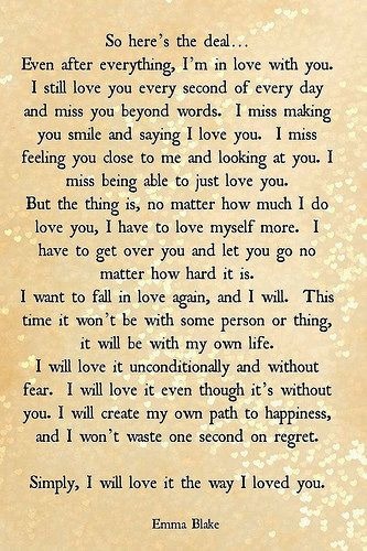 Sad Love Quotes : I will love my life the way I loved you. - #Love
