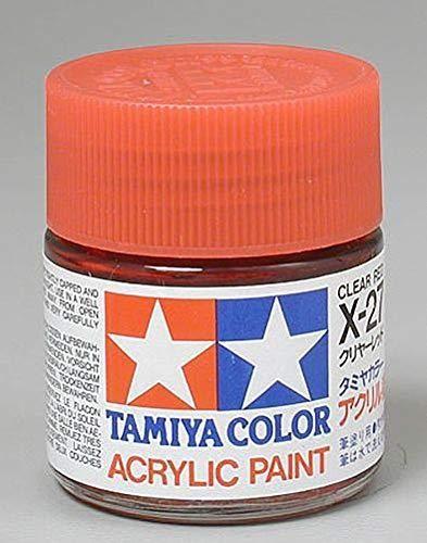 Photo of Tamiya America, Inc Acryl X27 Glanz, klares Rot, Tam81027