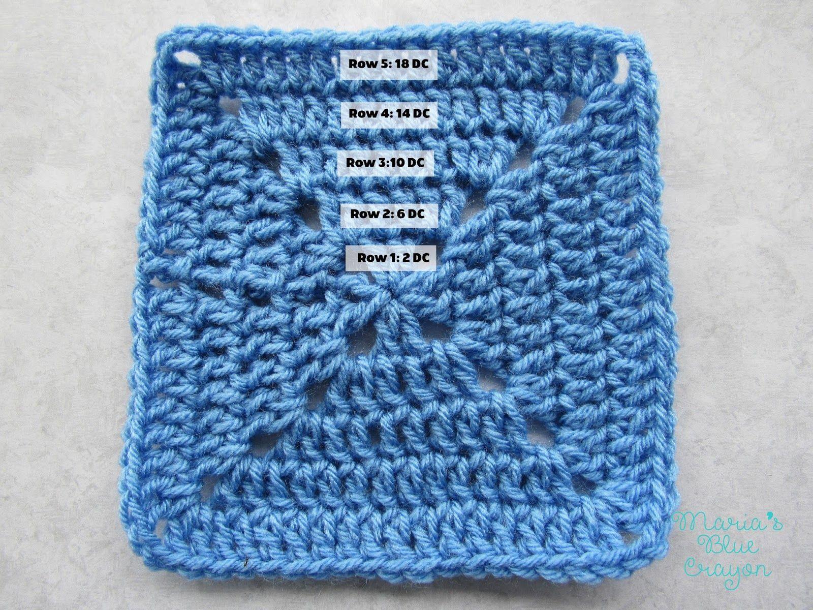 Ocean Themed Granny Square Afghan Series Crochet Pattern   Granny ...