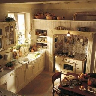 Chic Kitchen Designs From Marchi Cucine Country Chic Kitchen Old ...